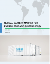 Global Battery Market for Energy Storage Systems (ESS) 2019-2023