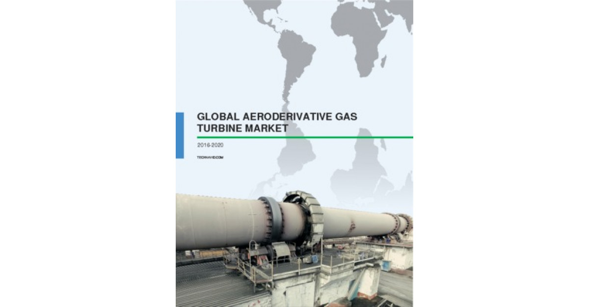Global Aeroderivative Gas Turbine Market 2016-2020 | Market