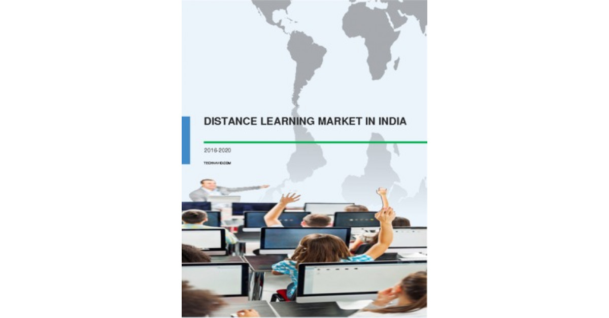 Distance Learning Market in India 2016-2020 | Market